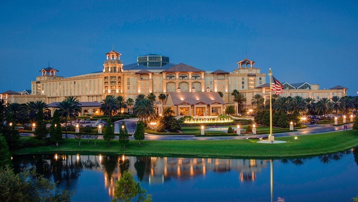 Gaylord Palms hotel.